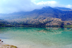 Kournas Lake, Crete Island. Royalty Free Stock Image