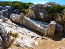 Kouros-Statue lizenzfreie stockfotografie