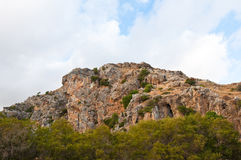 The Kourtaliotiko Gorge. Crete in Greece. Stock Images