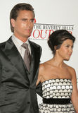 Kourtney Kardashian,Scott Disick Royalty Free Stock Image