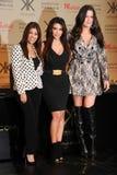 Kourtney, Kim and Kloe Kardashian Royalty Free Stock Photography