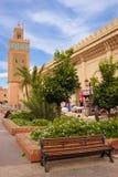 Koutoubia清真寺 马拉喀什 摩洛哥 库存图片
