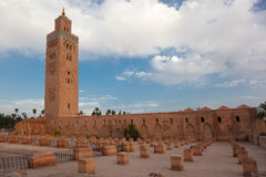 Koutoubia Royalty Free Stock Photo