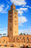 Koutoubia in Marrakesh, Morocco Stock Images