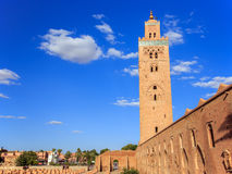 Koutoubia in Marrakesh, Morocco Royalty Free Stock Photography