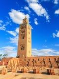 Koutoubia in Marrakesh, Morocco Royalty Free Stock Photos