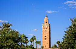 Koutoubia in Marrekesh, Morocco Stock Photos