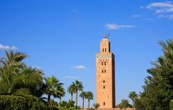 Koutoubia in Marrekesh, Morocco Stock Photos