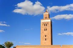 Koutoubia in Marrekesh, Morocco Royalty Free Stock Photos