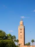 Koutoubia in Marrekesh, Morocco Stock Image