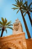 Koutoubia meczet Obrazy Stock