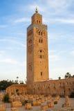 Koutoubia Meczet Zdjęcie Royalty Free