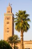 Koutoubia Moschee Lizenzfreie Stockfotos