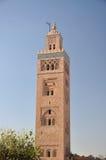 Koutoubia Moschee in Marrakesch Stockfotografie