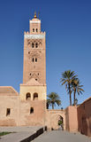 Koutoubia Moschee in Marrakesch Stockfoto