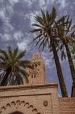 Koutoubia-Moschee in Marrakesch Medina Marokko lizenzfreie stockfotografie