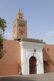 Koutoubia moské i Marrakesh Arkivfoto