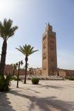 Koutoubia moské i Marrakesh Fotografering för Bildbyråer