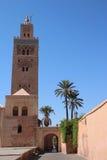 Koutoubia moské i Marrakesh Royaltyfria Foton