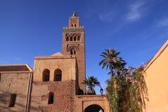 Koutoubia moské, Marrakesh Arkivfoto