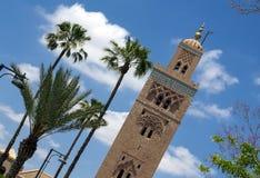 Koutoubia moské, Marrakesh Arkivbild