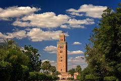 Koutoubia Mosque Stock Images