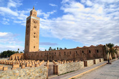 Koutoubia Mosque. The Koutoubia Mosque in Marrakech, Morocco Royalty Free Stock Image