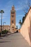 Koutoubia Mosque and Grounds, Marrakech Stock Image