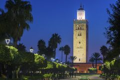 Free Koutoubia Mosque In Marrakesh Stock Photo - 138371440