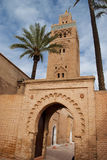 The Koutoubia mosque in Marrakesh (Morocco) Stock Photo