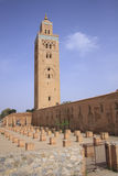 Koutoubia Mosque in Marrakech Royalty Free Stock Photography