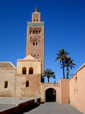Koutoubia Mosque, Marrakech. Koutoubia Mosque tower in Marrakech, Morocco Stock Photo