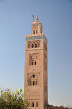 Koutoubia Mosque in Marrakech Stock Photography