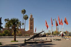 Koutoubia Mosque in Marrakech Stock Photo