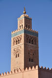 Koutoubia Mosque in Marrakech Royalty Free Stock Photos