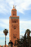 Koutoubia Mosque in Marrakech, Royalty Free Stock Images