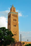 Koutoubia Mosque Stock Image