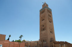 Koutoubia mosque Royalty Free Stock Photography