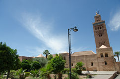 Koutoubia mosque Stock Photography
