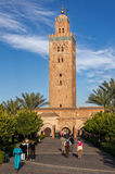 Koutoubia Mosque in Marrakech, Morocco Stock Images