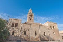 Koutoubia Mosque at Marrakech, Morocco Royalty Free Stock Photo