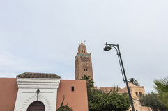Koutoubia Mosque at Marrakech, Morocco Royalty Free Stock Photo