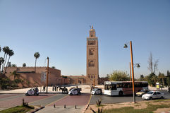 Koutoubia Mosque in Marrakesh Stock Photos