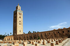 Koutoubia mosque in Marrakesh Stock Photo