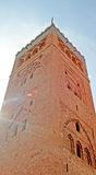 Koutoubia mosque in Marrakesh. Morocco Royalty Free Stock Image