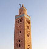 Koutoubia mosque in Marrakesh Royalty Free Stock Photo
