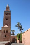 Koutoubia mosque in Marrakesh Royalty Free Stock Photos
