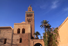 Koutoubia Mosque, Marrakesh Stock Photo