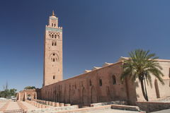 Koutoubia mosque in Marrakesh Stock Photography