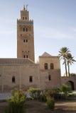 Koutoubia Mosque in Marrakesh. Minaret of the Koutoubia mosque in Marrakesh, Morocco.  This is the tallest minaret in Marrakesh Stock Photography